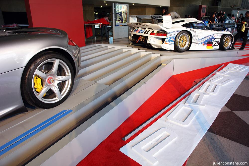 Porsche GT1 and Carrera GT @ NYC Auto Show