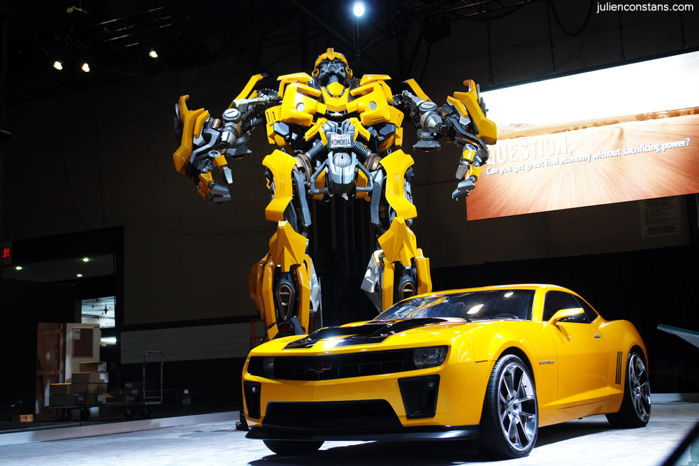 Transformers / Bumblebee / Chevy @ NYC Auto Show