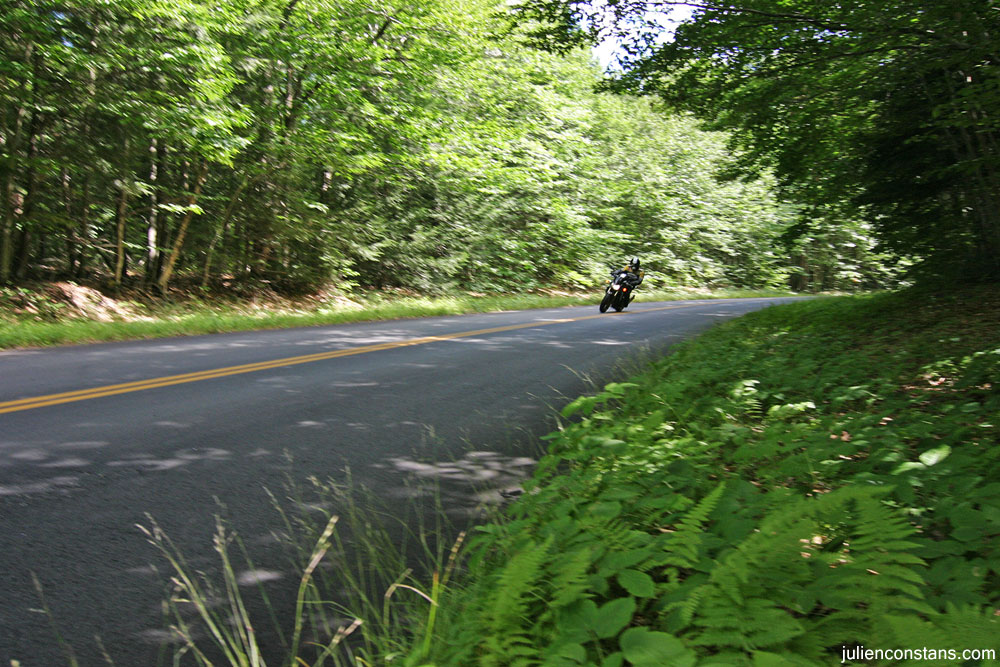 Kawasaki Z1000 twisties