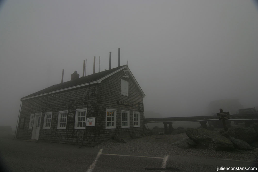 Mt Washington weather station