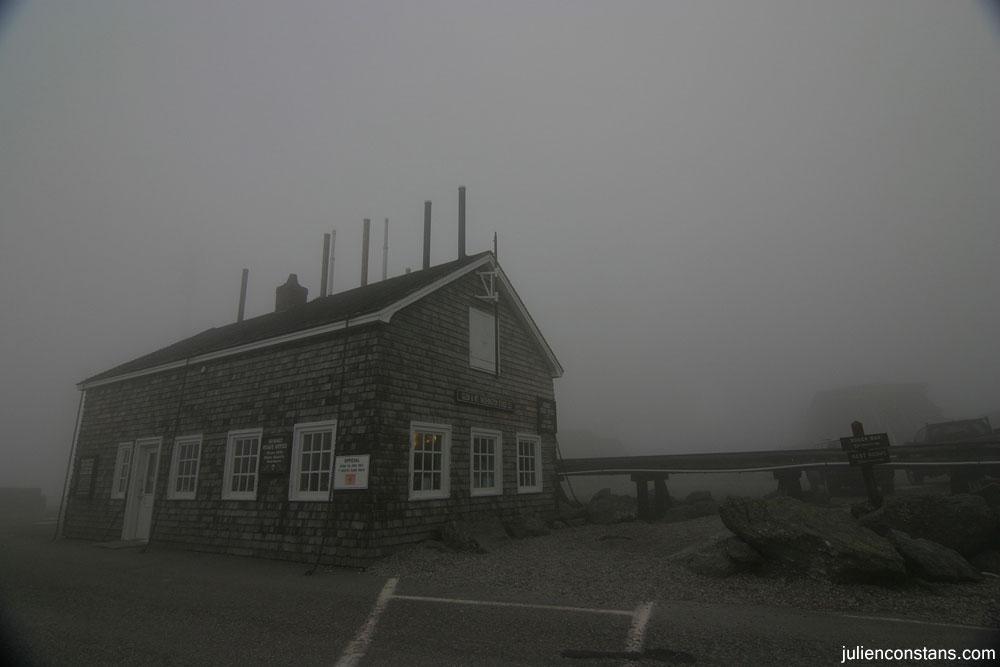 Mt Washington weather station