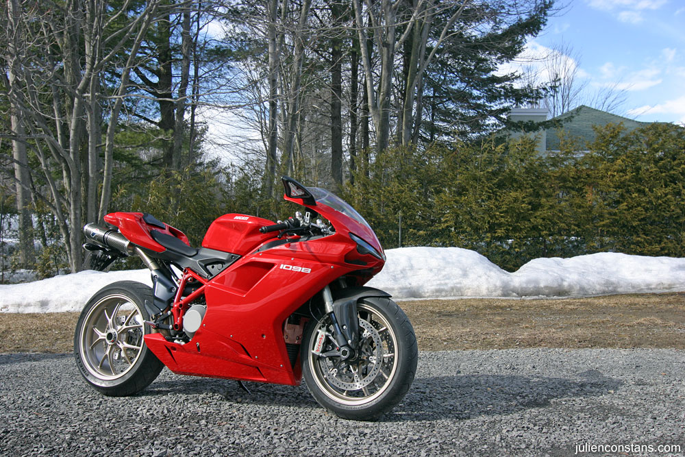 Ducati 1098 ready to go