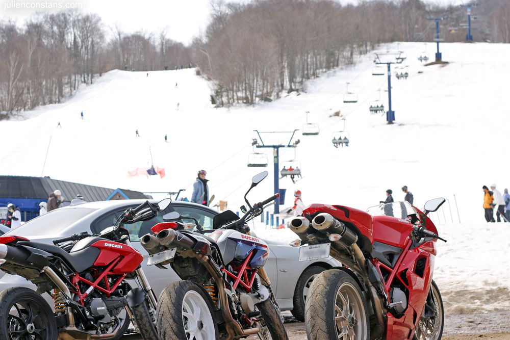 Ducati 1098 Hypermotard at Mont Tremblant