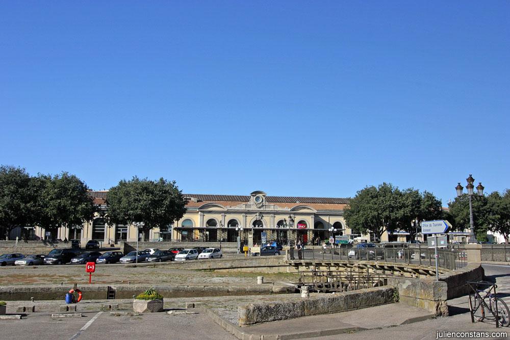 Carcassonne train station